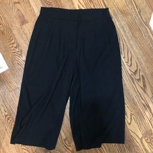 Leith wide leg cropped pants
